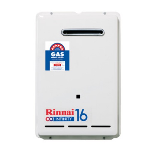 Rinnai - Infinity 16 Continuous Flow Hot Water System Natural Gas
