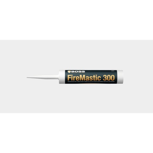 Boss Fire & Safety FireMastic-300 Box of 12 x 300mm Grey
