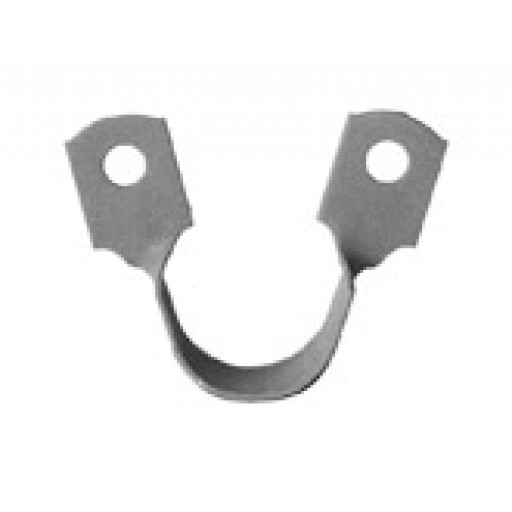 Nylon Coated Side Saddle Clips for Copper Pipe 3/4 inch