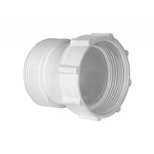 Plug & Waste Extensions 50mm x 75mm White