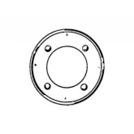 Galvanised Ceiling Ring 125mm