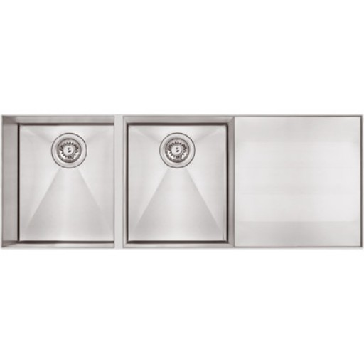 Abey - Lugano Double Bowl Sink - Undermount