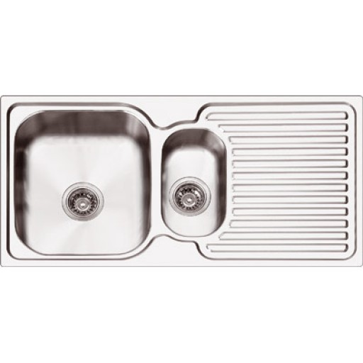 Abey - Project 125 1 - 1/3 Bowl Sink Left Hand Bowl