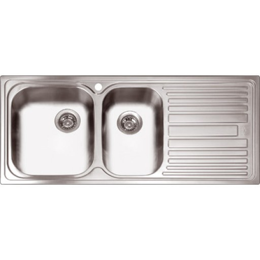 Abey - Deluxe 180 1 - 3/4 Bowl Sink Right Hand Bowl