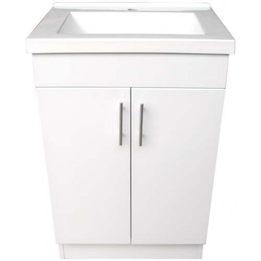 Blush 600mm Vanity Unit 3 Tap Hole Kickboard Only