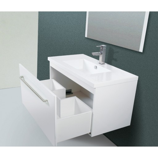 Liberty 900mm Vanity Unit 3 Tap Hole Kickboard