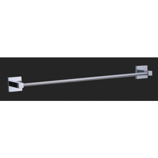 Square Single Towel Rail