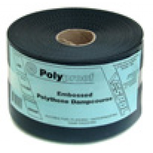 Vespol - Polyproof - Polythene Dampcourse and Concealed Flashing (Embossed). 150mm 30m