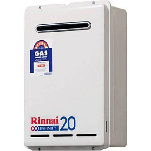Rinnai - Infinity 20 Continuous Flow Hot Water System Natural Gas Pre-Set
