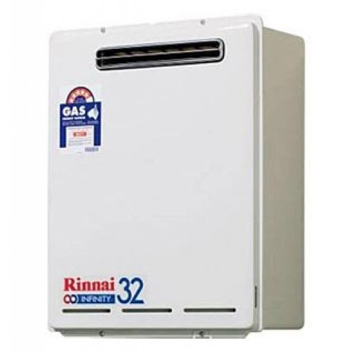 Rinnai - Infinity 32 Continuous Flow Hot Water System Natural Gas