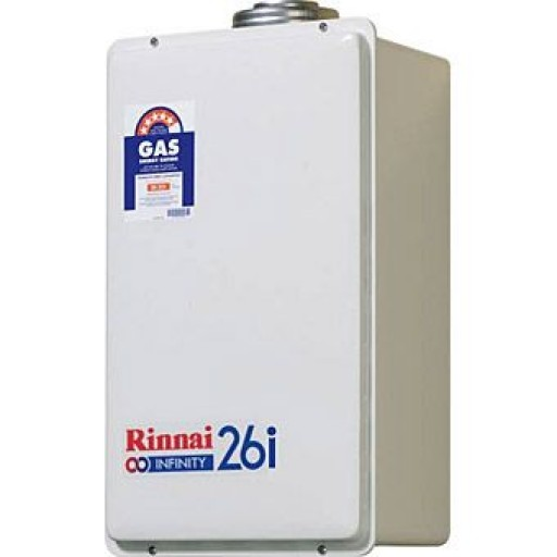 Rinnai - Infinity 26i (internal Model) Continuous Flow Hot Water System Natural Gas