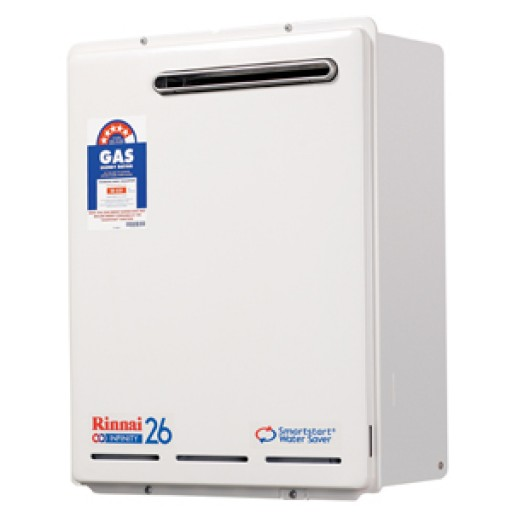 Rinnai - Infinity 26 Smart Start Continuous Flow Hot Water System
