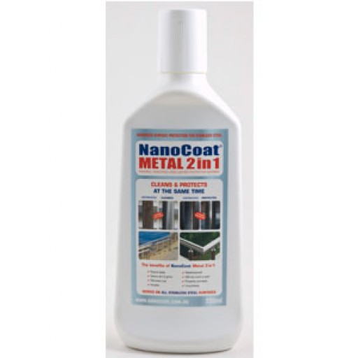 NanoCoat Metal 2 in 1 - Anti-Corrosive & Cleaner
