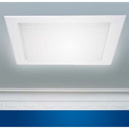 Abey Flexishaft Skylight 400mm x 400mm 2400mm Steel Deck