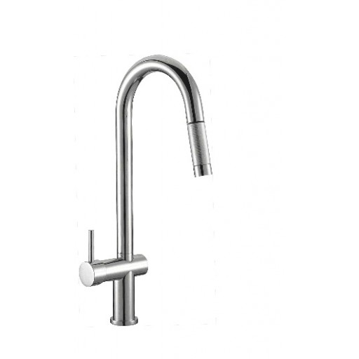 Pull-Out Sink Mixer - Solid Neck - PC-1005SB