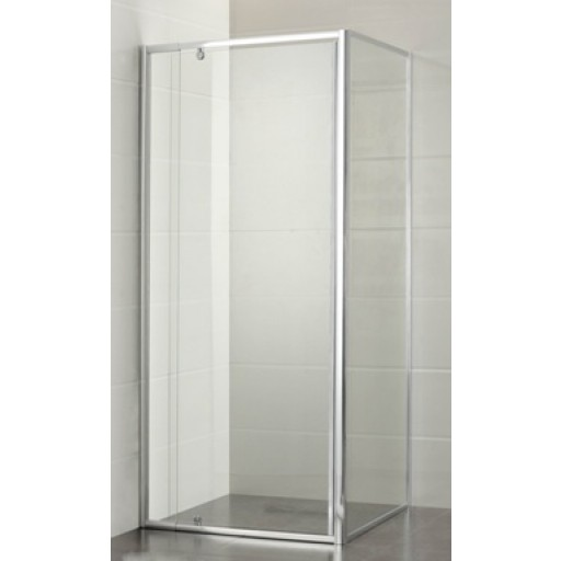 P & P Square, Semi-Framed Shower Screen 900x900x1950