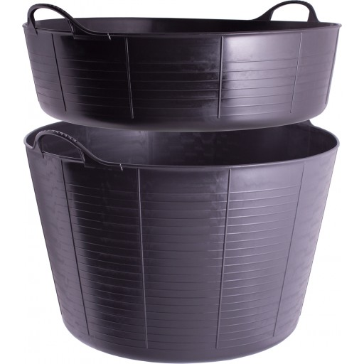 Gorilla Tub - Black - Medium 26 Litre