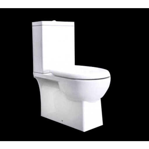 P & P Back-to-Wall Toilet Suite (Square design) PTW1002 P Trap