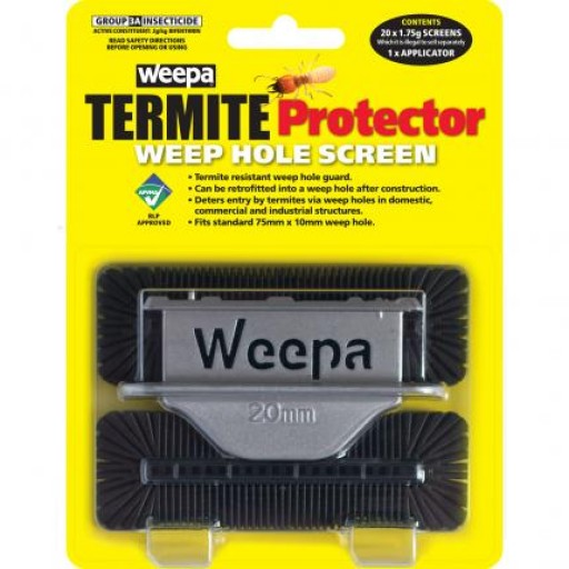 Termite Protector Weep Hole Screen (22-TPWS)