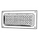 Abey Brick Vent - Flat Face Vent - Small - 270mm x125mm - 0425